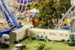 Faller 140481 Fairground Kits - Luggage Trailer & Caravan IV